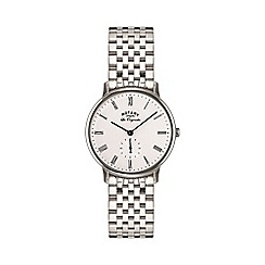 Rotary - Gents stainless steel bracelet watch gb90050/01