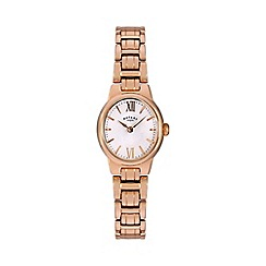 Rotary - Ladies rose plated watch