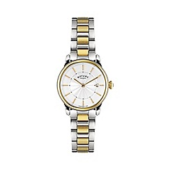 Rotary - Ladies two tone gold watch