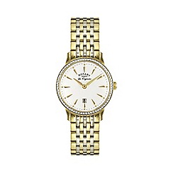 Rotary - Ladies two tone gold watch lb90056/01