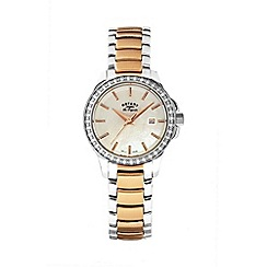 Rotary - Ladies two tone rose watch lb90119/41