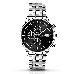 Accurist - Men's stainless steel chronograph bracelet watch