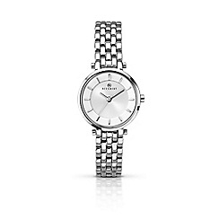 Accurist - Women's silver analogue bracelet watch