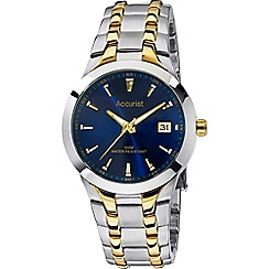 Accurist - Men's two-tone analogue bracelet watch