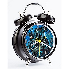 Batman - Boys batman twin bell clock bat2dc