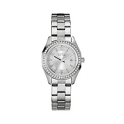 Caravelle New York - Ladies stainless steel watch with bracelet strap