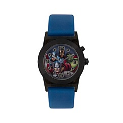 The Avengers - Boys Disney Avengers flashing blue watch with avengers dial avg3509