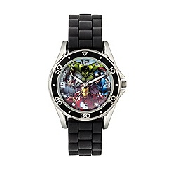 The Avengers - Boys Disney Avengers black watch with Avengers dial avg3529