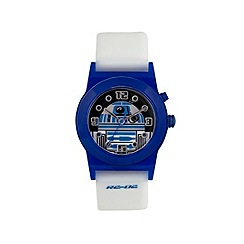 Star Wars - Boys Disney flashing Star Wars R2D2 dial watch