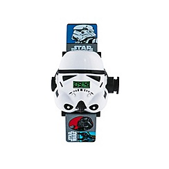 Star Wars - Boys Disney projection Star Wars Storm Troopers watch