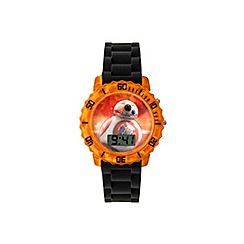 Star Wars - Boys Disney flashing Star Wars BB8 digital watch