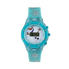 Disney Frozen - Girls Disney flashing Frozen Olaf dial digital watch