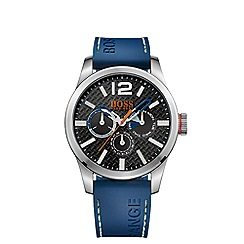 Boss Orange - Men's black chronograph strap watch 1513250