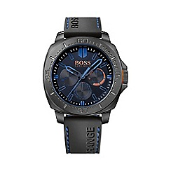 Boss Orange - Men's blue chronograph strap watch