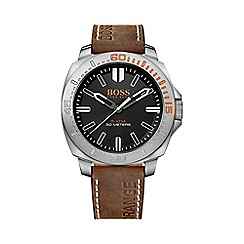 Boss Orange - Men's black strap watch