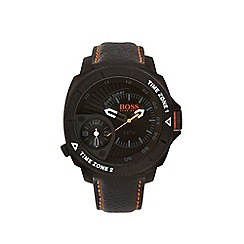 Boss Orange - Men's orange strap watch