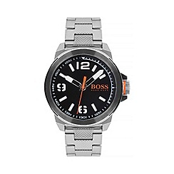 Boss Orange - Men's black bracelet watch