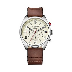 Tommy Hilfiger - Mens chronograph watch with cream dial