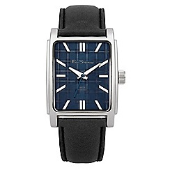 Ben Sherman - Men's black strap watch