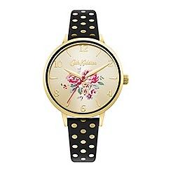 Timex - Men's black dial with black stainless steel bracelet watch