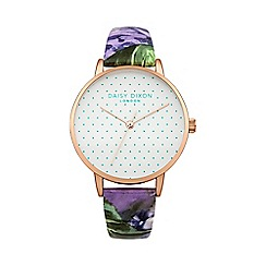 Daisy Dixon - Ladies multi colour leather strap watch