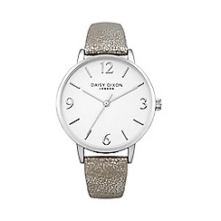 Daisy Dixon - Ladies grey metallic strap watch