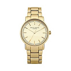 Daisy Dixon - Ladies gold tone metal bracelet watch