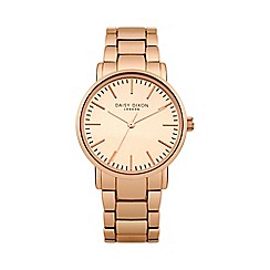 Daisy Dixon - Ladies rose gold tone metal bracelet watch