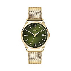 Henry London - Ladies gold 'Chiswick' pale Hamilton watch hl39-m-0102