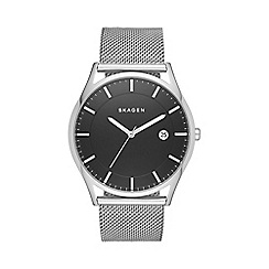 Skagen - Men's silver 'Hagen' watch skw6284