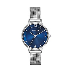 Skagen - Ladies steel mesh 'Anita' watch