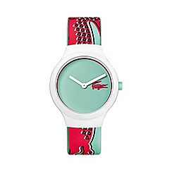 Lacoste - Unisex green and pink 'Goa' watch 2020114