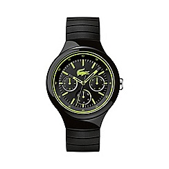 Lacoste - Unisex black and green 'Borneo' watch
