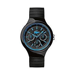 Lacoste - Unisex black and blue 'Borneo' watch 2010869