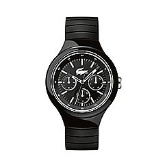 Lacoste - Unisex black and white 'Borneo' watch 2010870