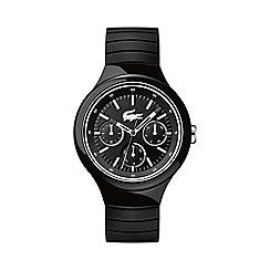 Lacoste - Unisex black and white 'Borneo' watch
