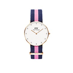 Daniel Wellington - Ladies rose gold 'Classy Winchester' watch