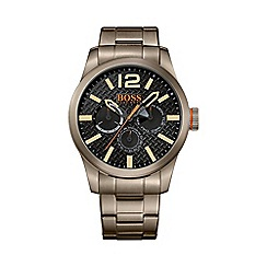 Boss Orange - Men's steel khaki chronograph watch