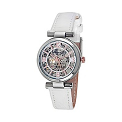 Kenneth Cole - Ladies white leather strap watch