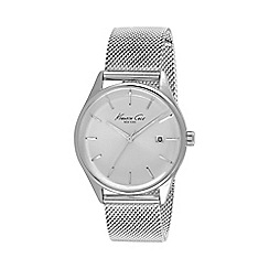 Kenneth Cole - Ladies silver mesh bracelet watch