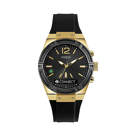 guess watches men debenhams guess connect smart watch c0002m3