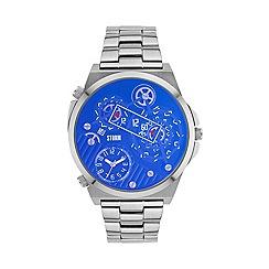 STORM London - Gents lazer blue TRIMATIC metal strap watch trimatc laz blu