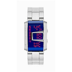 STORM - Gents lazer blue MK4 CIRCUIT LED display watch