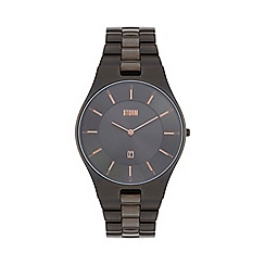 STORM London - Gents titanium SLIM-X XL metal strap watch slim x xl titan