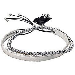 Pilgrim - Silver Plated Bracelet set