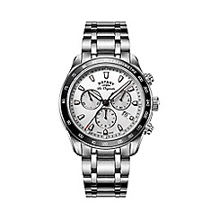 Rotary - Gents Stainless Steel Bracelet Watch with Chronograph Dial gb90169/02