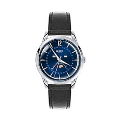 Henry London - Knightsbridge silver moonphase watch hl39-ls-0071