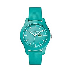 Lacoste - Ladies turquoise strap watch 2000958