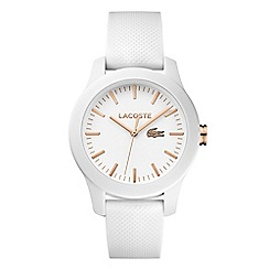 Lacoste - Ladies white strap watch 2000960