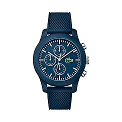 Lacoste - Men's blue strap chronograph watch 2010824